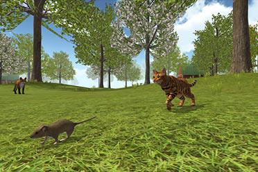 猫咪模拟游戏新作《猫咪模拟器农场动物》专题站上线