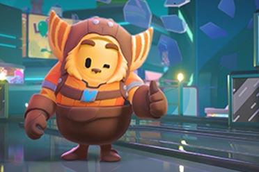 《糖豆人》联动《瑞奇与叮当》!限时活动解锁外观奖励