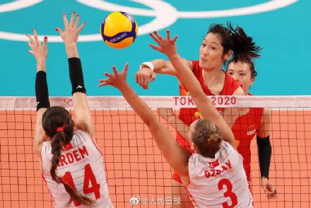 首战失利!中国女排0-3负于土耳其女排 下场对战美国