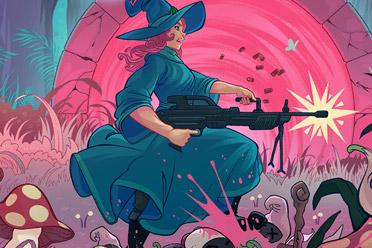 像素风格动作射击游戏《扳机魔女》游侠专题站上线