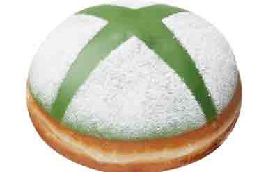 甜甜圈与微软联动 《光环》和Xbox标志甜甜圈出炉