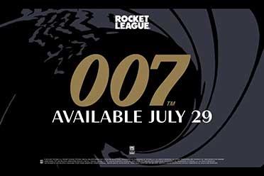 火箭联盟联动007!邦德经典座驾阿斯顿马丁DB5登陆