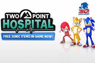 双点医院联动索尼克 双点医院Steam免费试玩周末开启