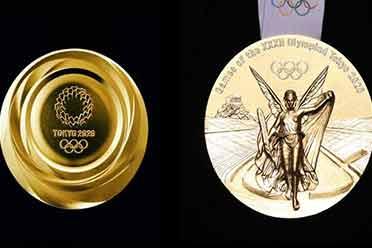 真环保?重一斤多东京奥运金牌成本:约5000元人民币!