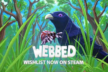 冒险独立游戏《Webbed》宣布 将于9月9日登陆Steam