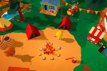可爱画风探索建造游戏《避风港公园》游侠专题上线