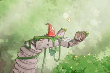精美平台解谜游戏《花之灵Hoa》游侠专题上线