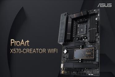 龙力加冕 星光璀璨 华硕正式发布四款全新X570主板!