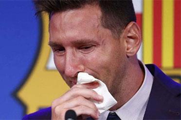 一张纸巾卖100万美元!?梅西擦眼泪的纸巾被拍卖