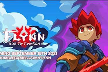 2D精美手绘 像素动作游戏《弗林:绯红之子》9.15发售