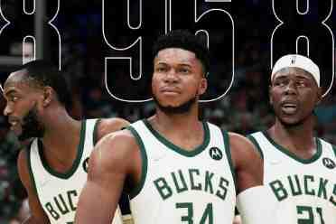 《NBA2K22》第一波球员评分!字母哥/杜兰特/库里96