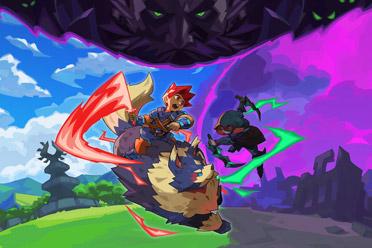 2维手绘动作平台游戏《弗林绯红之子》游侠专题上线