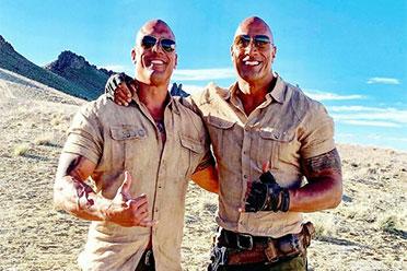 不是双胞胎吗?好莱坞明星和特技替身长得一模一样!