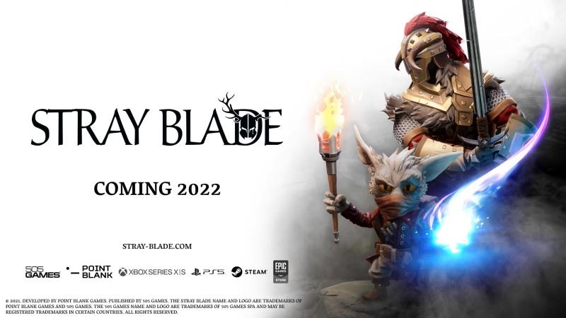 动作冒险RPG游戏《迷失之刃》将在2022年发售