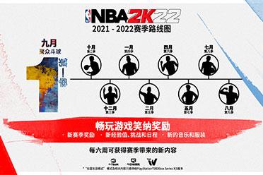 《NBA 2K22》新情报:赛季路线图公开!9月发售