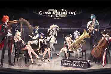 GC21:《原神》线上音乐会首支预告公开 10月3日上线