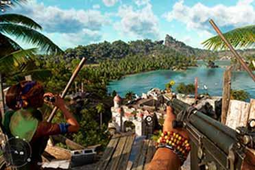 育碧嘲讽《地平线》表示《远哭6》可免费升级次世代!