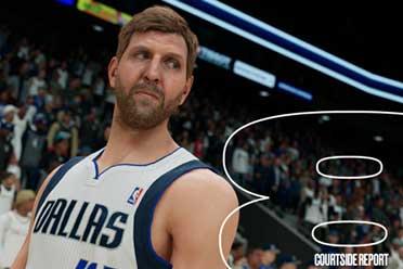 《NBA 2K22》场边报告:PS5/XSX S为MyNBA添新功能