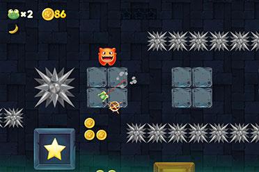 高难度平台跳跃类游戏《摇摆地牢》开启抢先体验