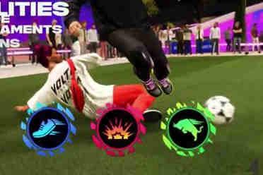 EA《FIFA 22》街球模式宣�鳌蛊�公布 10月1日机会正式�l售