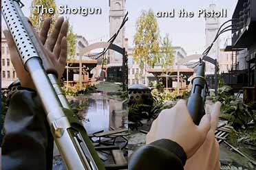 冷战背景FPS游戏《INDUSTRIA》新演示赏!武器展示