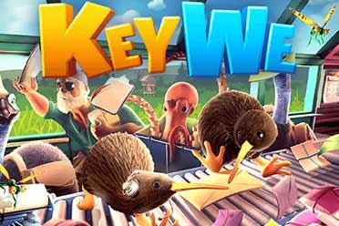奇异小鸟们在邮局工作 双人游戏《KeyWe》PS版将延期