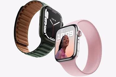 �O果�l布��2021: Apple Watch Series7 �框窄屏幕大