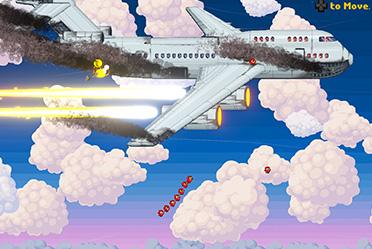 一款像素风快节奏动作冒险游戏 无厘头元素 玩法自由