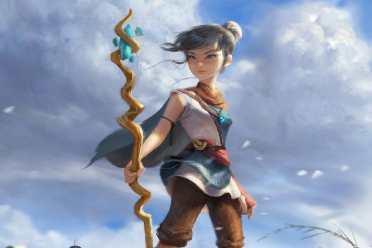 《柯娜精神之桥》萌萌女主形象设计介绍 初稿更年轻!