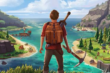 俯视视角动作冒险游戏《莱恩的岛》游侠专题站上线