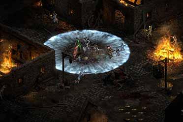 暴雪新作《暗黑破坏神2重制版》战网正版分流下载发布!