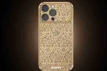 全球最贵iPhone 13系列手机 18K纯金打造尽享奢华