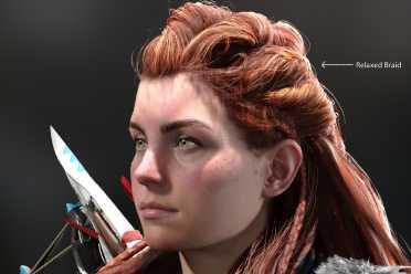 《地平线2西部禁域》女主高清图片发布!展示身体细节