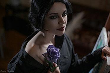 这就是本人吧!《巫师3》女粉丝COS爱丽丝 太传神!