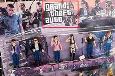《GTA6》未发售玩具已开卖?角色模型惊现葡萄牙商店