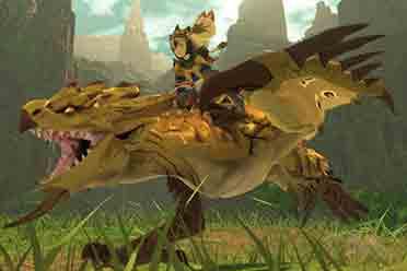 《怪物猎人物语2:破灭之翼》新随行兽介绍正式发布