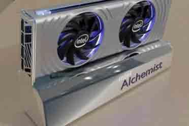 Intel�[�蝻@卡Alchemist渲染�D公布 22年2季度�l布