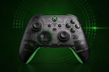 微软推20周年纪念版Xbox无线手柄与耳机 售价69.99美元
