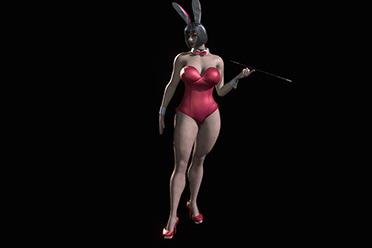 """直面兔女郎的""""恐惧""""!《生化危机8》夫人兔女郎Mod"""