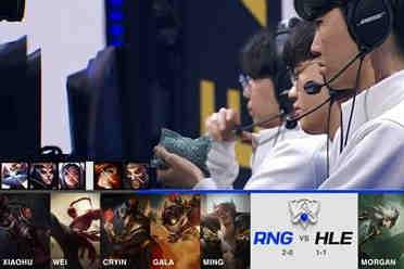 《LOL》S11小组赛第三日:RNG击败HLE取得3连胜!