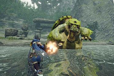 《怪物猎人:崛起》试玩官方中文steam正版分流发布