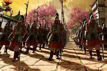 《全面战争:战锤3》新视频 演示震旦VS奸奇长垣之战