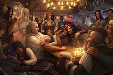 杰洛特与人皇扳手腕 《巫师3》联动《指环王》概念图