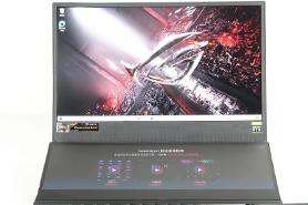 两块4k屏的锐龙9游戏本 ROG冰刃5双屏实测