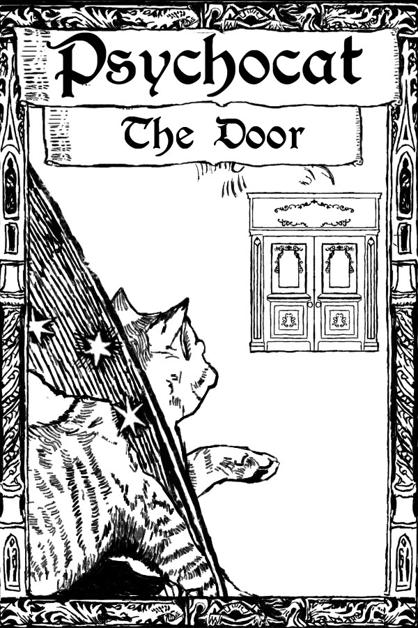 神经猫与门