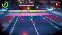 《马里奥网球ACE》DEMO全角色必杀技合集6.奇诺比奥必杀技