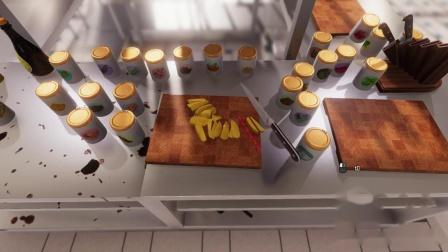 《料理模拟器》4.牛排配薯条
