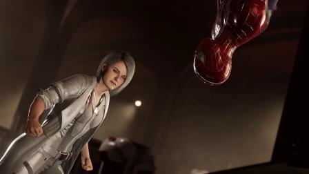 《漫威蜘蛛侠》银貂DLC 全流程实况第四期深入敌阵