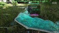 【峻晨解说】从零开始MOD13-迅龙幼崽孵化成功!体型太小、容易掉进下水道-方舟生存进化