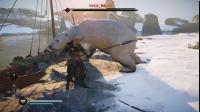 《刺客信条英灵殿》冰蓝巨熊打法